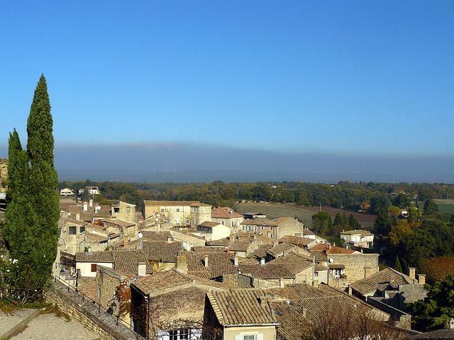 Grignan et son château  dans la Drôme