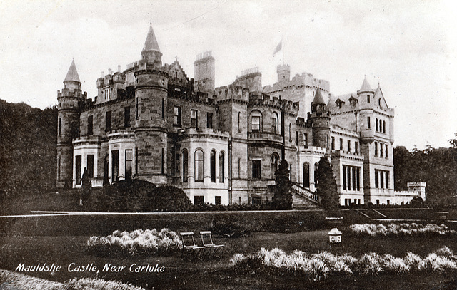 Mouldslie Castle, Carluke, Lanarkshire (Demolished)
