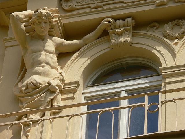 Karlsbad - Hausfassade