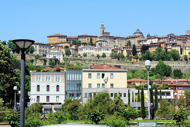 Historische Altstadt von Bergamo
