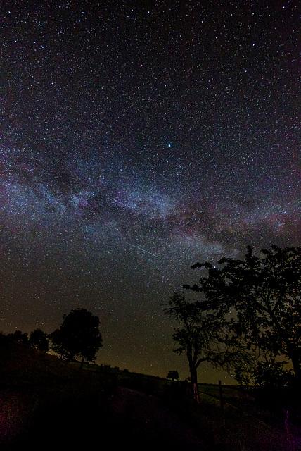 Nachthimmel, Photoshopbearbeitung - 20140525