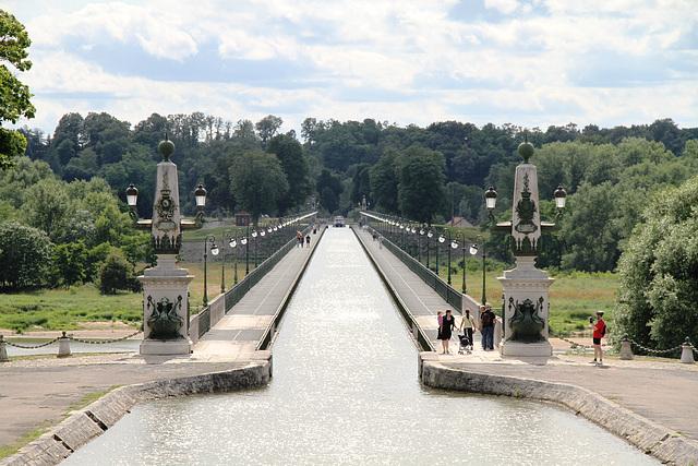 Pont-canal à Briare (45)