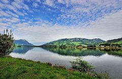 Le lac de Zoug...
