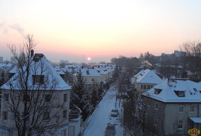 2013-03-03 3 sunleviĝo / Sonnenaufgang