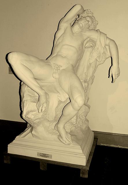Tielnomata faŭno de Barberini (kopio)