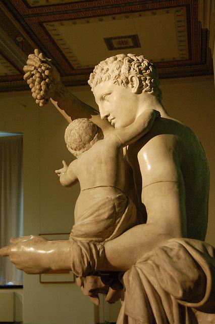 Hermeso kun Dionizo-knabo, kompletigita