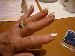 La Main de Maîtresse Christiane / Mistress Christiane's hand