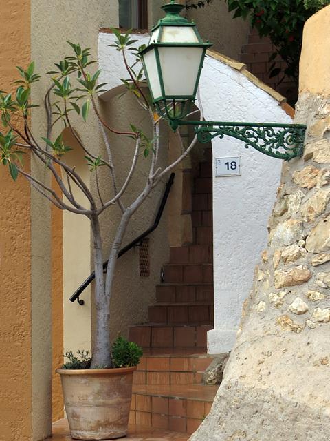 Versteckter Eingang