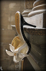 Dame Annick et ses Bilitis / Lady Annick's Bilitis heels - ESCARPIN