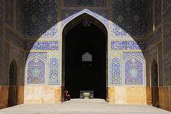 Inside Shah Mosque