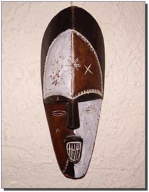Masque africain - Côte d'ivoire.