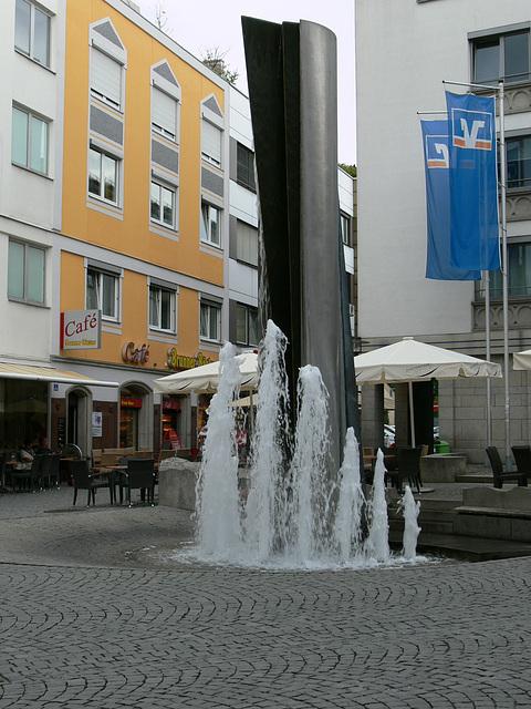 """Weiden -  Brunnen """"Entfaltung"""""""