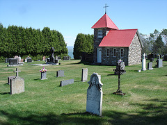 Chapelle et cimetière / Chapel & cemetery - 30 mai 2010.