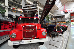 Technik Museum Speyer – 1959 MAN Fire Engine