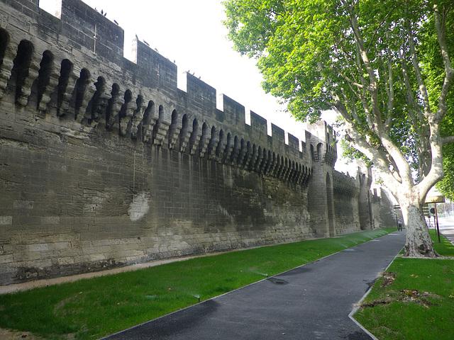 Remparts d'Avignon.