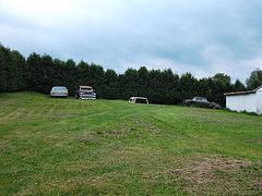Voitures anciennes de fond de cour /  Backyard old cars - 31 août 2012.