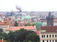 Rigardo al Prago el la kvartalo Malá Strana