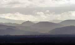 la plaine d'Alsace se réveille...en face, la Forêt Noire