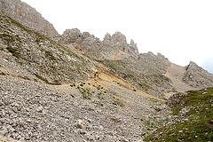 Wanderweg zur Pisahütte