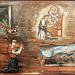 Capela - ermida de Santa Ana - Freguesia de S.Miguel do Pinheiro - representação de um milagre