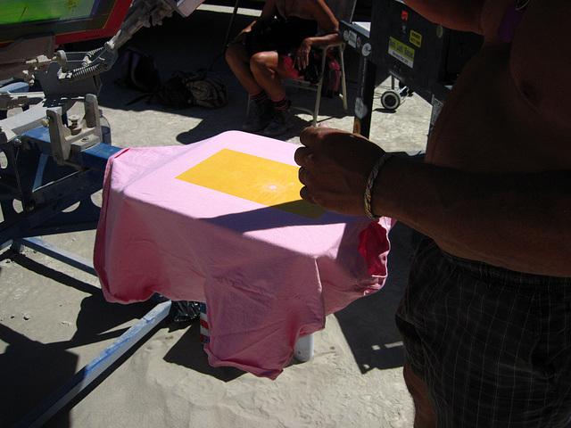 Silkscreening T-Shirts (3068)