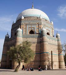 Mausoleum of Sheikh Rukn-I-Alam in Multan