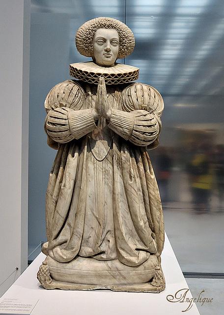 Monument funéraire de Madelaine Marchand , épouse de Nicolas le Jay président du parlement de Paris