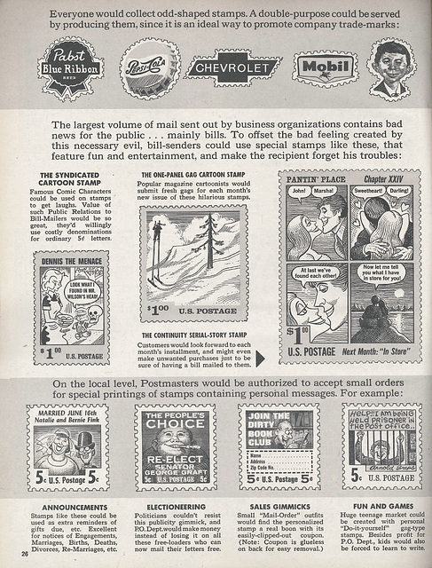 Mad Postage Stamp Advertising p3