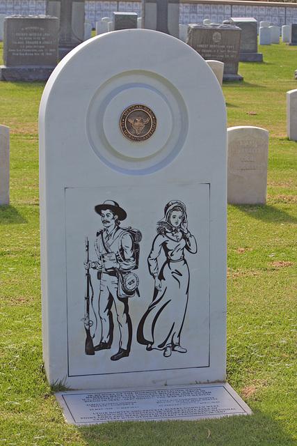 Fort Rosecrans National Cemetery - Mormon Battalion Memorial (6364)