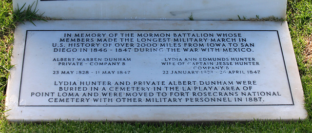 Fort Rosecrans National Cemetery - Mormon Battalion Memorial (6365)