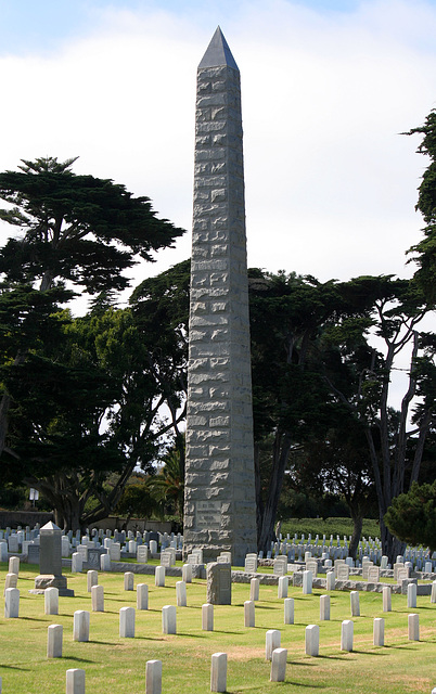 Fort Rosecrans National Cemetery - USS Bennington Memorial (6363)