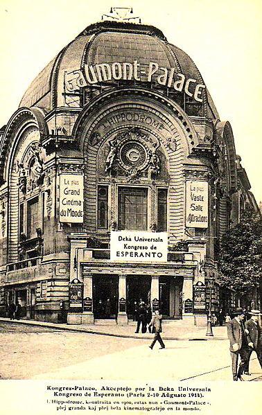 Universala Kongreso 1914, Gaumont Palace, Paris