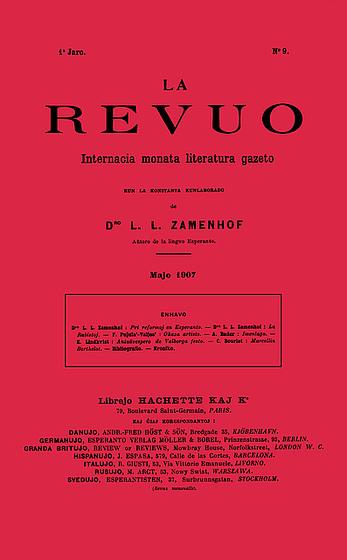 La Revuo, majo 1907