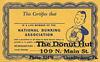 National Dunking Association Membership Card