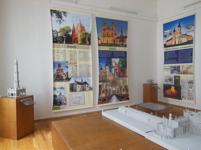 Břeclav - ekspozicio en la Domo de Liechtenstein