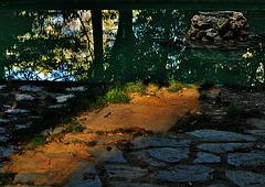 Un rayo de sol...Jardines de Jabalcuz