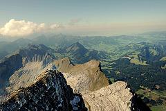 Les Alpes appenzelloises...