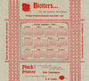Blotters by the Basket or Barrel! Pluck Art Printery, Lancaster, Pa., 1897