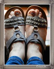 Lady Christine / Dame Christine - New sandals /  Nouvelles sandales - 4 mai 2012