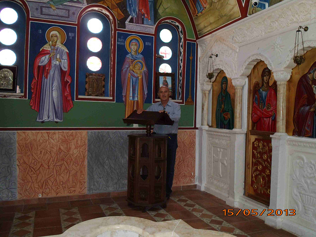 En la pregejo de Sveti Naum