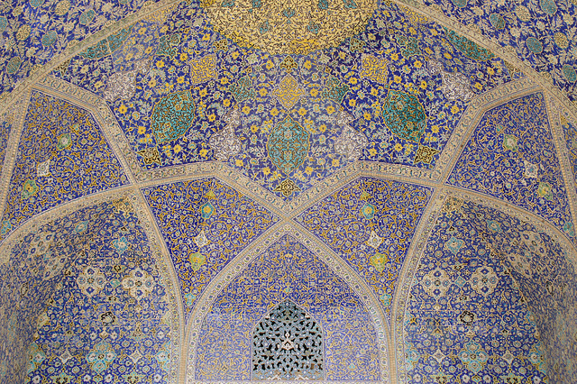 Inside Shah Mosque (2)