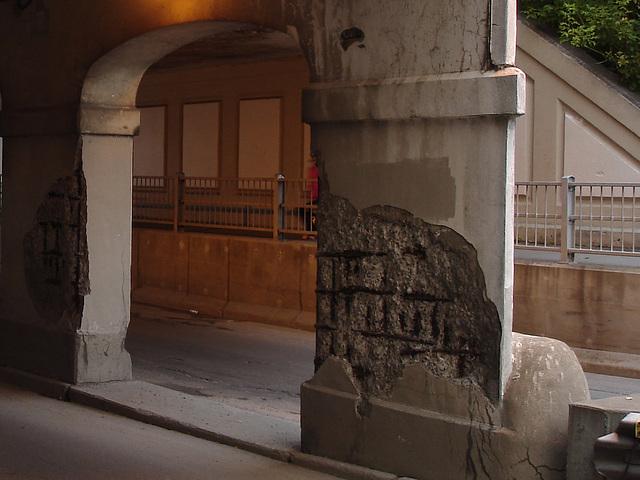 Passage sousterrain / Underground transition - 4 juillet 2009.
