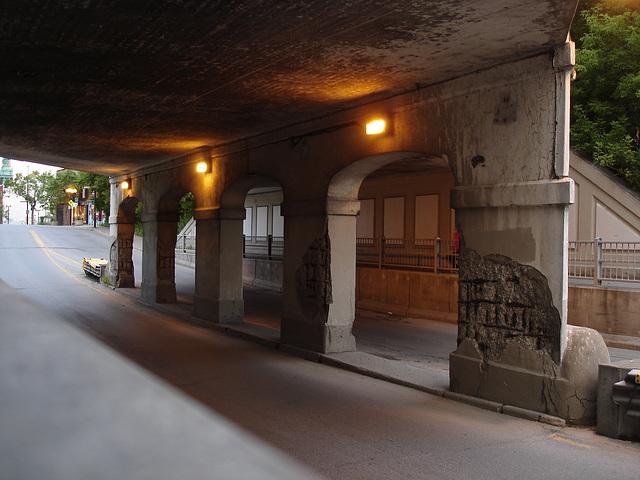 Passage sousterrain / Underground transition