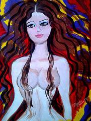 Desnudo I - Acrílico