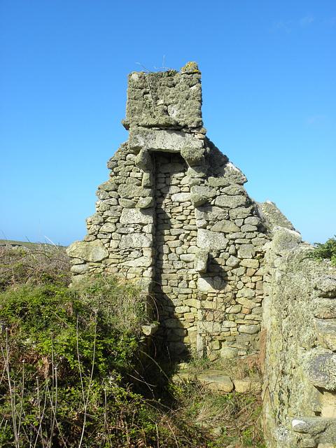 maison en ruine sur ouessant