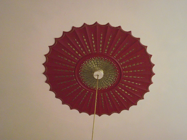 My ceiling rose in the other lounge