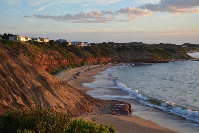 Sunset at Phillip Island, Victoria. Australia,