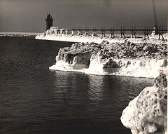 South Haven Light - Spring Thaw