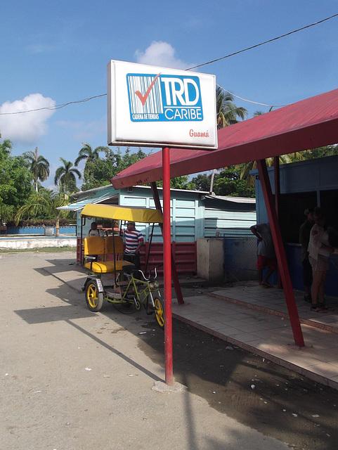TRD Caribe stop.
