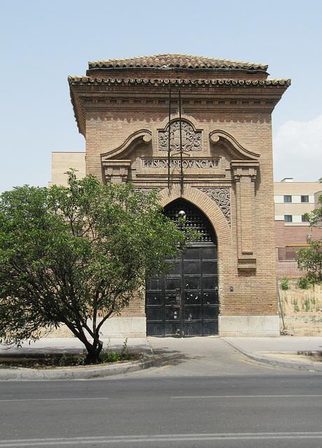 Puerta antigua de la Cárcel de Granada